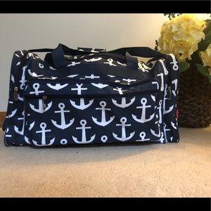 Handbags - Large Nautical Duffle Bag